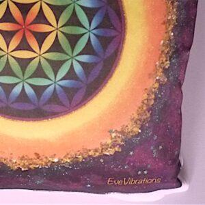 Coussin Fleur de Vie Chakra