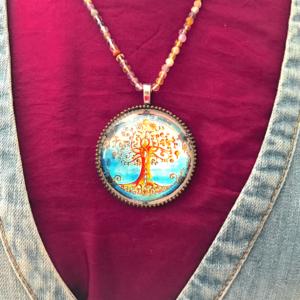 Médaillon énergétique vibratoire arbre de vie