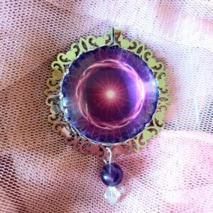 médaillon-énergétique-flamme-violette