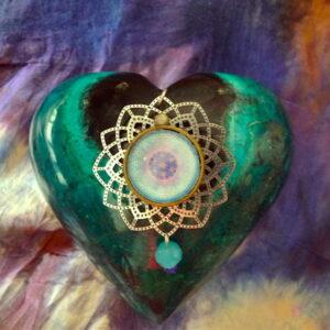 médaillon vibratoire fleur de vie communication