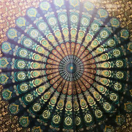 tenture murale mandala inde