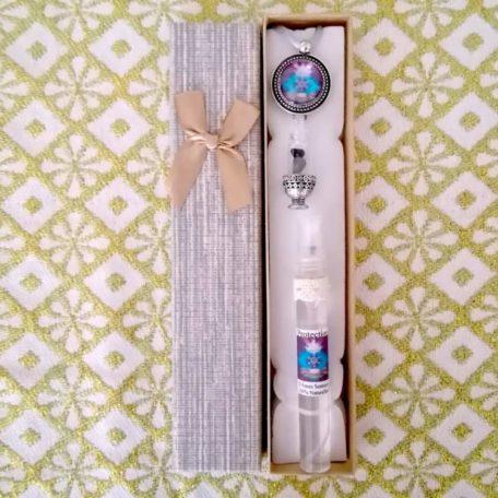 Pendentif olfactothérapie protection et sa synergie huile essentielle