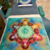 Tenture-murale-géométrie-sacrée-fleur-de-vie-et-cube-de-métatron