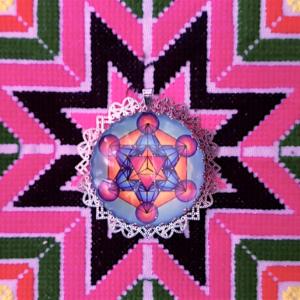 médaillon-énergétique-cube de Métatron