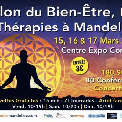 Salon MANDELIEU LA NAPOULE 15 au 17 mars 2019