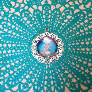 médaillon énergétique cube de métatron interstellaire