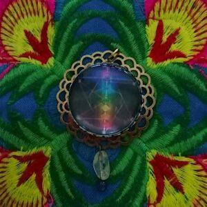 médaillon énergétique merkaba chakras