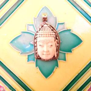 Pendentif Tibet Buddha corne