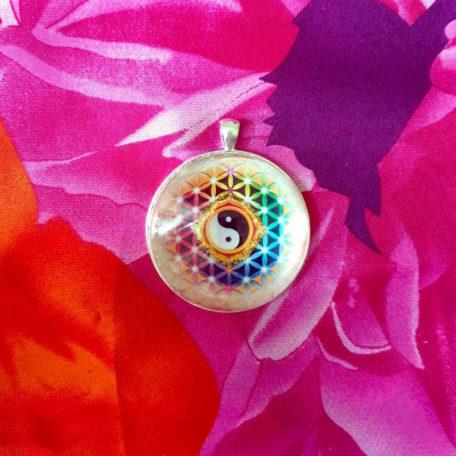médaillon énergétique yin yang harmonie