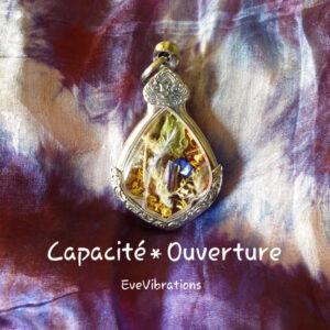 amulette talisman capacité ouverture