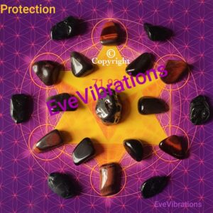 Mandala de cristaux protection